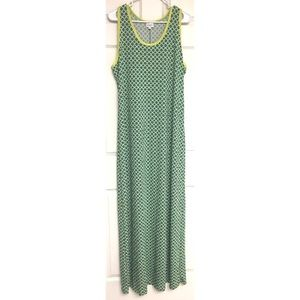 LuLaRoe Dani Maxi Dress Tank Sheath Sleeveless 2X